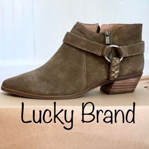 NWT Lucky Brand Booties!